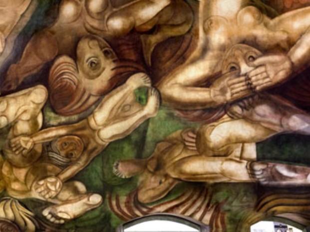 Natalio botana mural siqueiros for El mural de siqueiros