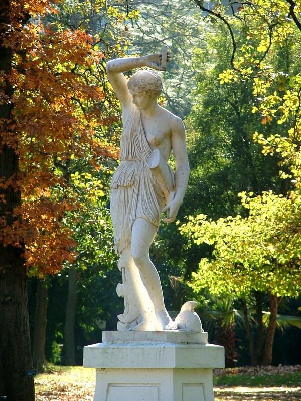 Esculturas para jardin jardn decorativo sulpture bases de - Esculturas para jardines ...