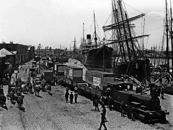 Resultado de imagen para puerto de buenos aires 1900